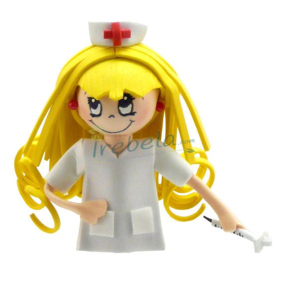 Fofubroche enfermera rubia