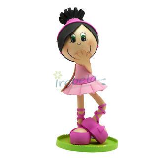 Fofucha Bailarina vestido rosa