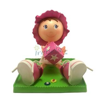 Fofucha Bebé traje rosa