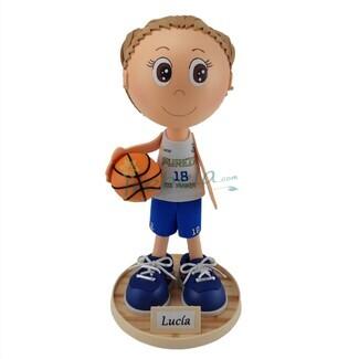 Fofucha jugadora de baloncesto
