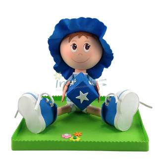 Fofucho Bebé traje azul
