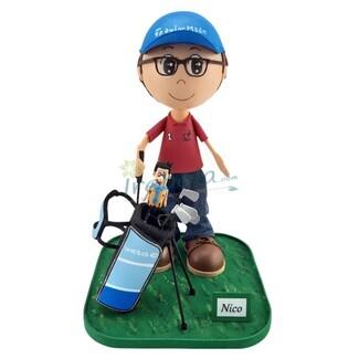 Fofucho jugador de golf