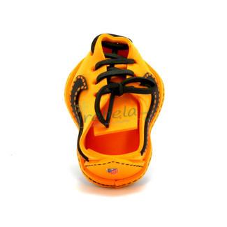 Fofulápiz bota de fútbol amarillo