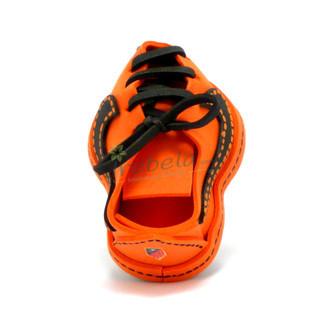 Fofulápiz bota de fútbol naranja